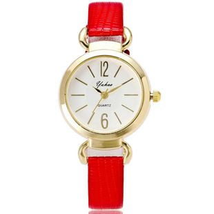 Fashion trend small dial fine strap student female watch NHSY122178's discount tags