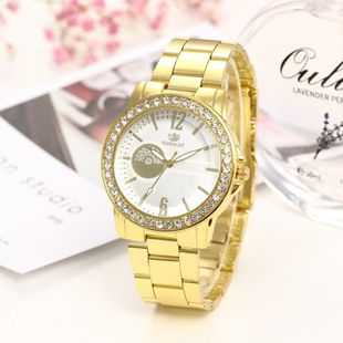 Simple casual fashion steel belt watch NHHK122189's discount tags