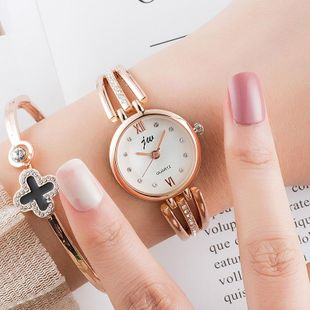 Korean fashion rhinestone banded bracelet watch NHSY122197's discount tags