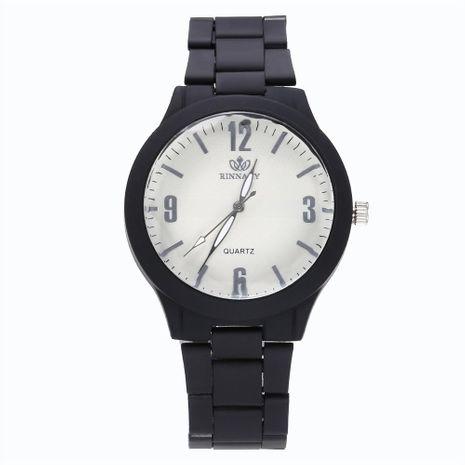 Fashion colorful alloy steel strip quartz watch NHHK122200's discount tags