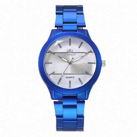 Fashion colorful alloy steel belt casual quartz watch NHHK122202's discount tags