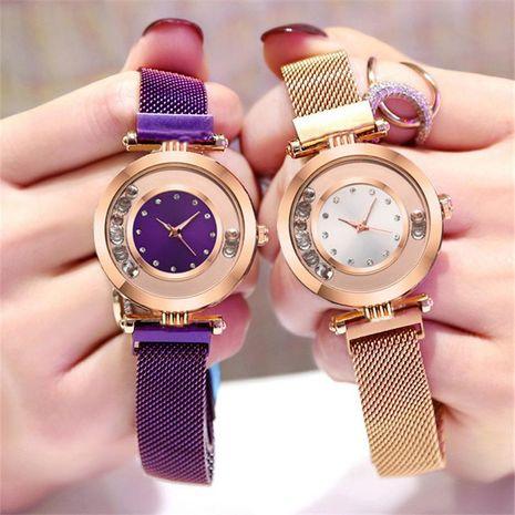 Stylish luxury rhinestone ball quartz watch NHSY122207's discount tags