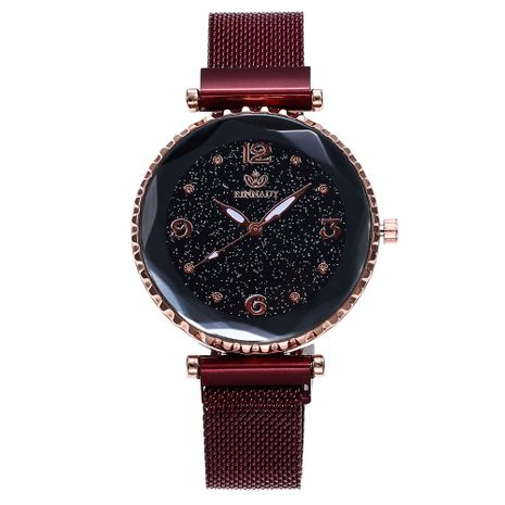 Fashion simple trend metal braided temperament female watch NHHK122208's discount tags
