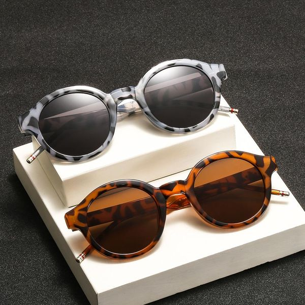 Fashion vintage rice nail sunglasses NHKD122232