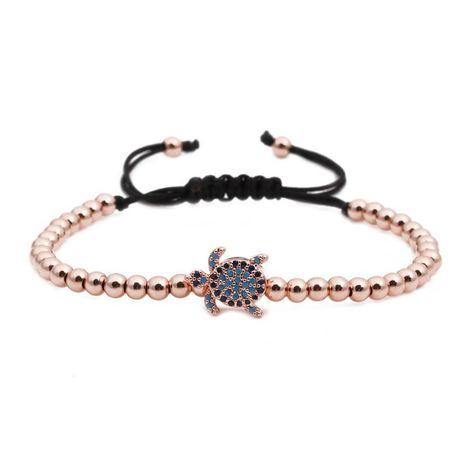 Unisex gossip Copper bead weaving Bracelet NHYL122544's discount tags