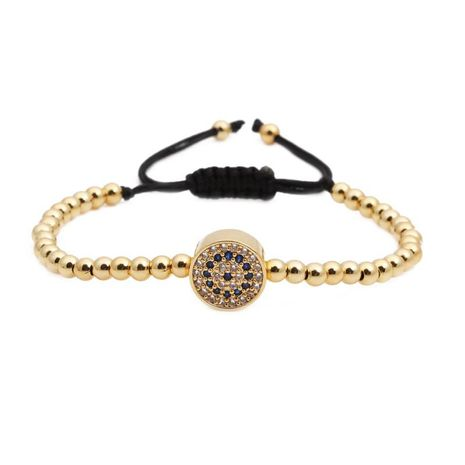 Fashion Copper bead weaving Bracelet NHYL122552's discount tags