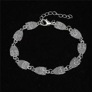 Fashion Hot vintage owl Alloy Bracelet NHYL122561's discount tags