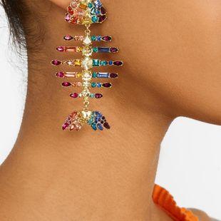 Womens Animal  Zodiac Plating Alloy Earrings NHJQ122649's discount tags