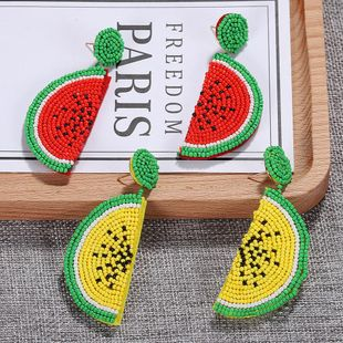 Womens Fruit Rice Beads Earrings NHJQ122658's discount tags