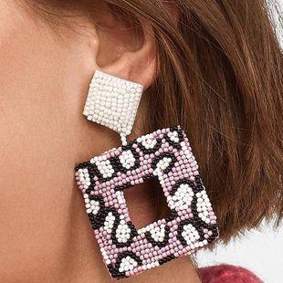 Womens Geometric Plastic  Resin Earrings NHJQ122761's discount tags