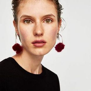 Womens Geometry Fashion exaggerated big ear hook Earrings NHJQ122765's discount tags
