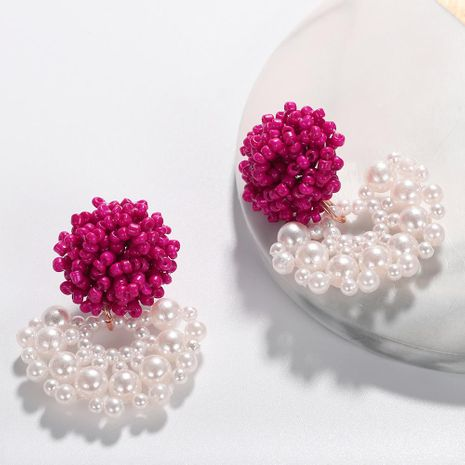 Womens Geometric Beads Earrings NHJQ122766's discount tags