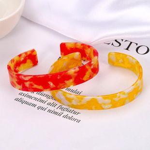 Womens Geometric  Fashion pop retro Acrylic Bracelet NHJQ122779's discount tags