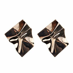 Womens Irregular Plating Alloy  Earrings NHJQ122780's discount tags