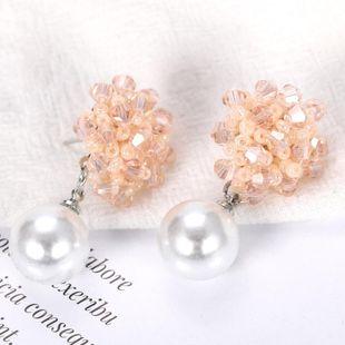 Womens Geometric Beads Earrings NHJQ122781's discount tags