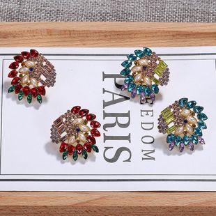 Feminine  Zodiac Gem Earrings NHJQ122785's discount tags