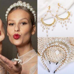Womens U-shaped Beads Hair Accessories NHJQ122790's discount tags
