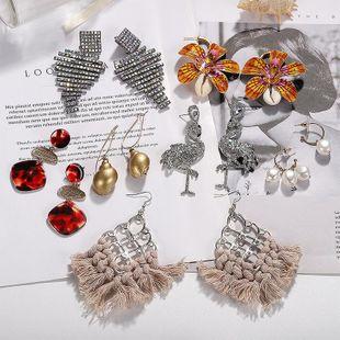 Womens Creative Alloy Shell Conch Acrylic Acrylic Earrings NHJQ122802's discount tags