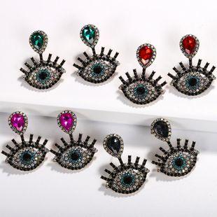 Womens Geometric Rhinestone Beads Earrings NHJQ122809's discount tags