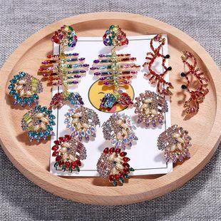 Womens Animal / Zodiac Rhinestone Earrings NHJQ122815's discount tags