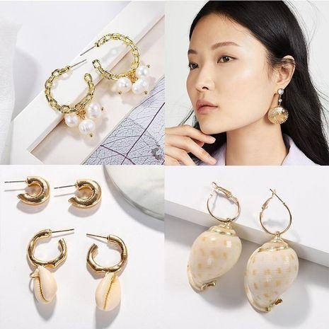 Womens Geometric Beads Earrings NHJQ122833's discount tags