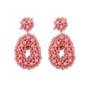 Womens teardropshaped Earrings NHJQ122774