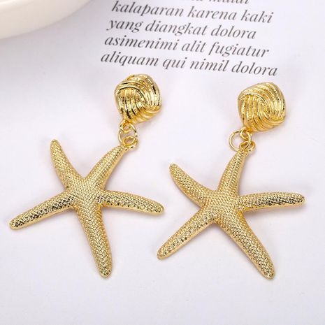 Womens Star Paint Alloy Earrings NHJQ122973's discount tags