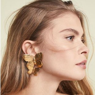 Womens Insect Paint Alloy Earrings NHJQ122984's discount tags