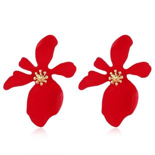 Womens Fashion  Floral Plating Alloy Earrings NHVA123000's discount tags