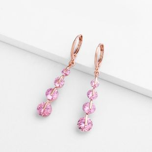 Womens teardrop shaped zircon ocesrio Earrings NHAS123010's discount tags