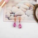 Womens teardrop shaped zircon ocesrio Earrings NHAS123025
