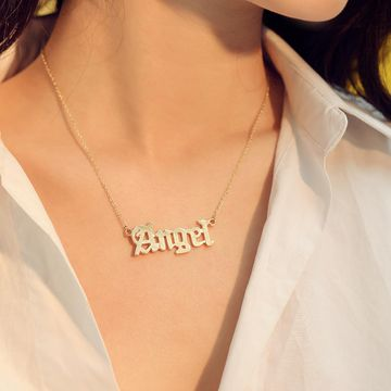 Womens geometric plating alloy Necklaces NHMD123286