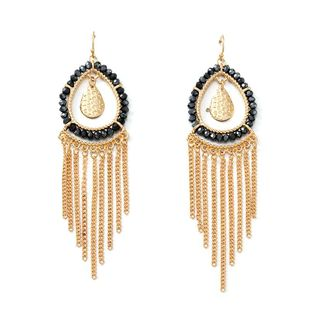 Womens tassel plating alloy Earrings NHNZ123346's discount tags
