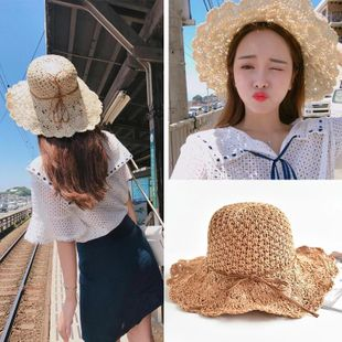Korean version of hand-woven large skull cap NHXO123349's discount tags