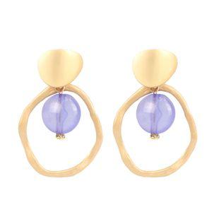 Womens Irregular Plating Metal Europe  Earrings NHCT123372's discount tags