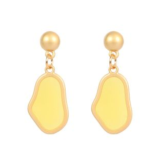 Womens Irregular Plated Metal Earrings NHCT123430's discount tags