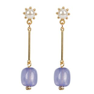 Womens Noble alloy-plated long acrylic Plating Metal Fashion OL Earrings NHCT123431's discount tags