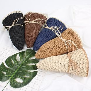 Fashion bow small fresh hollow beach sunhat NHXO123438's discount tags