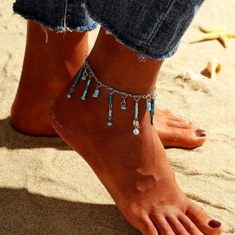 Bracelet de cheville en alliage de riz pour petit corps pour femme NHNZ123442's discount tags