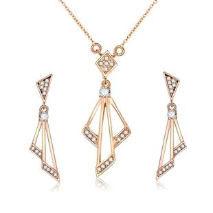Womens Electroplated Alloy Jewelry Sets NHXS123507's discount tags