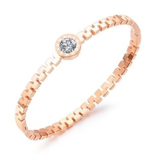 Womens geometrically plated titanium steel Bracelet NHOP123529's discount tags
