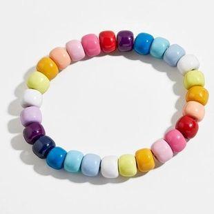 Womens String Chain Plastic  Resin Bracelets & Bangles NHJQ124081's discount tags