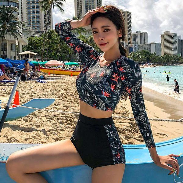 Bikini retro de cintura alta con estilo NHHL124143