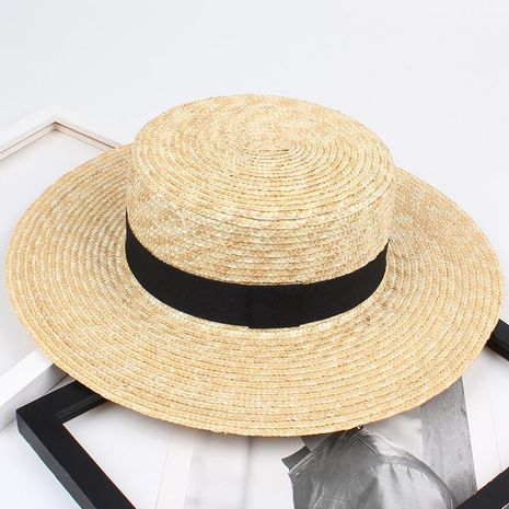 European and American fashion barley straw hat NHXO124187's discount tags