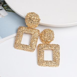 Womens Geometry Electroplating Alloy Earrings NHJJ124320's discount tags