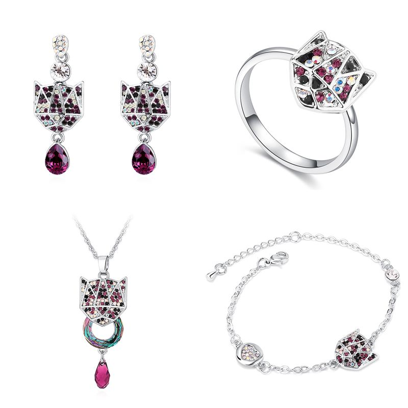 Imitated crystalCZ Fashion Imitated crystal Jewelry Sets NHPS51645