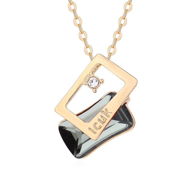 Imitated crystal&CZ necklace Fashion NHPS54133