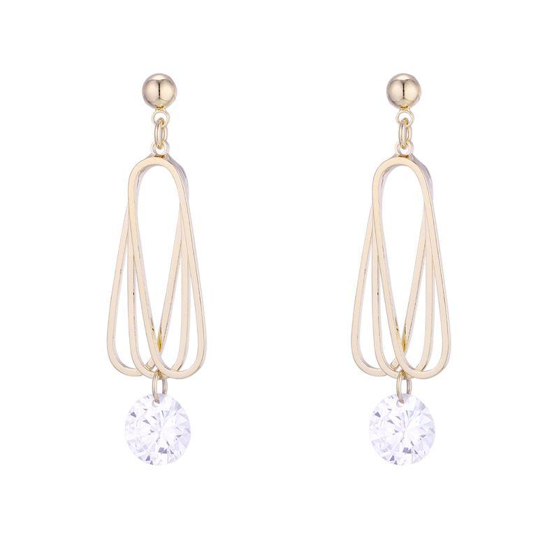Copper plating earring  NHPS54296