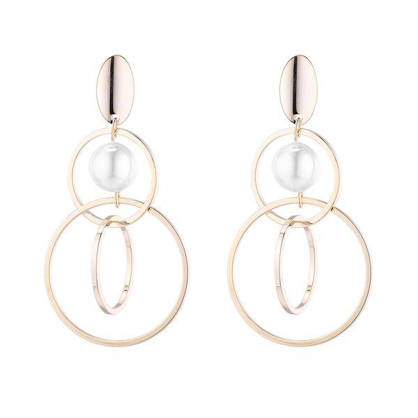 Copper plating earring  NHPS54311