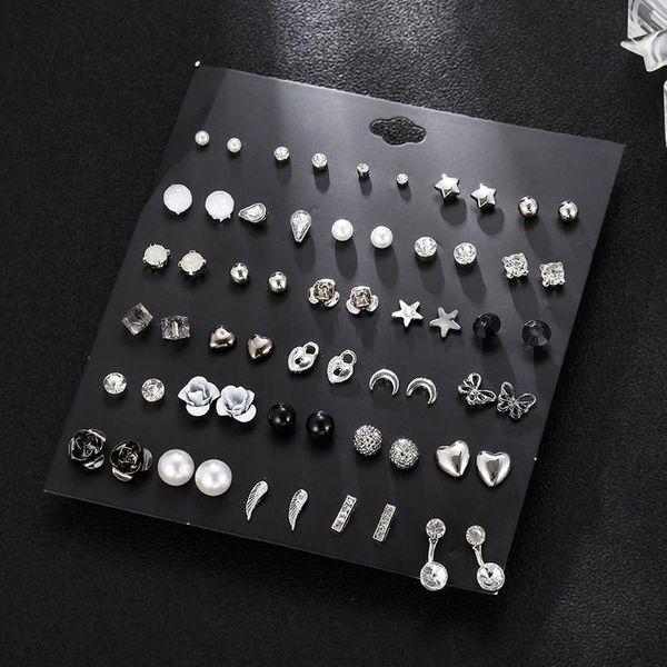 Womens Geometry Electroplating Alloy Earrings NHSD124806